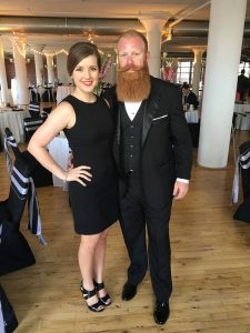 Caroline and Cory Burks